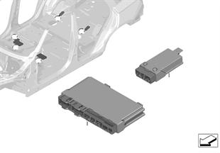Unidad de mando módulo del asiento