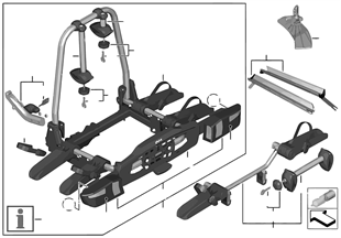 Fahrradheckträger Pro
