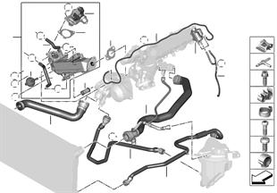 冷卻系統冷卻液軟管
