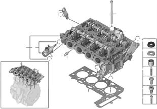 Zylinderkopf/Anbauteile