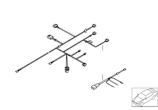 Heater wiring set