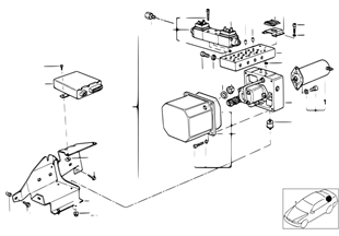Agregat hydraul.de capote electrohydr.
