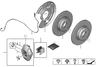 Capteur de plaquette de frein arrière
