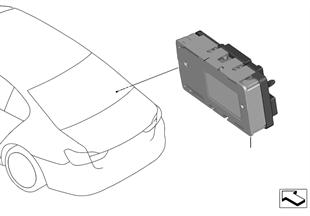 Zekering-relaiskast LIN-module