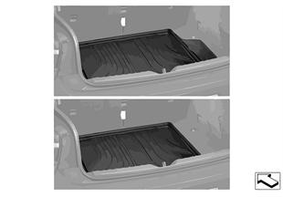 Фасонный коврик багажного отделения