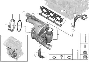 Turbolader mit Schmierung