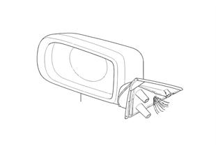 Lusterko zewnętrzne (S430A)