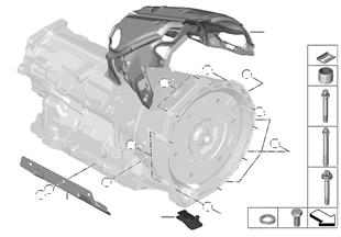 トランスミッション 固定部/ホルダー