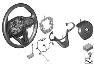Stuurwiel hout airbag