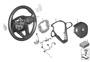 Sportstuurwiel airbag multif./ paddels