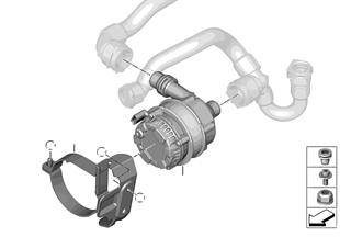 冷却システム チャージ エア 電動クーラント ポンプ