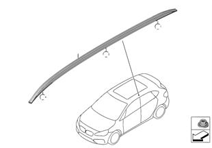Retrofit, roof rail