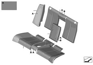 Cobertura individual banco traseiro