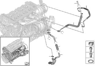 Olietoevoer turbocompressor