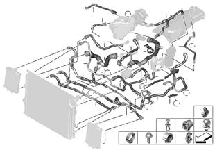 冷却システム クーラント ホース