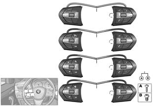 Schalter Lenkrad Multifunktion M-Sport