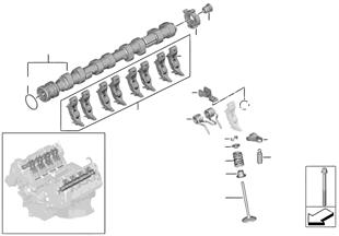Ventilsteuerung-Nockenwelle Einlass