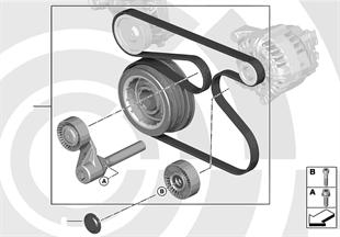 Rep. kit, drivebelt assembly, Value Line