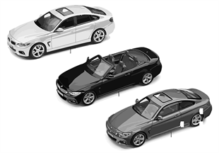 BMW Miniaturen — BMW 4er Serie 14/16