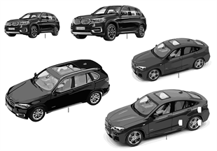 BMW Miniaturen — BMW X Serie 14/16