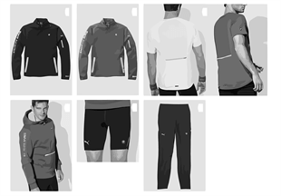 Athletics — textiles homme 2013/14