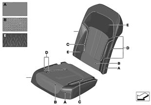 個別のオプション装備 カバー コンフォート シート エアコン リア