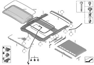 Подъемно-сдвижная крышка люка