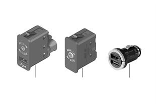 Złącze USB-/Audio