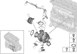 Yağlamalı turbo şarj