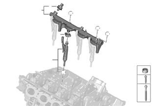 Vysokotlaké potrubí / vstřikování