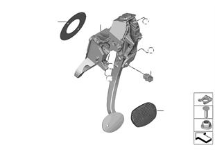 Pedaliera cambio automatico