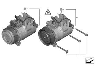 Airco-compressor
