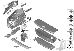 Verkleidung Gepäckraum