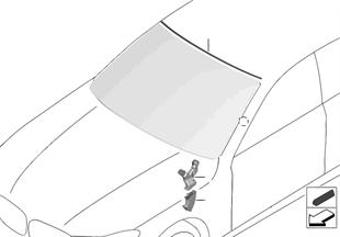 글레이징, 설치부품