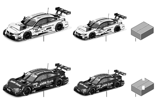 BMW miniatures — DTM 2015