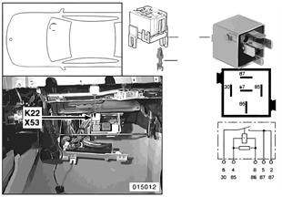 Relé přídavný ventilátor stupeň 2 K22