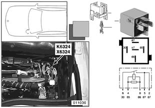 Relé Motor de arranque K6324