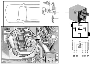 Przekaźnik silnika DDE K2085
