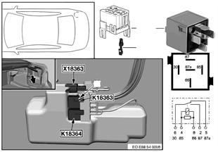 繼電器 折疊式軟頂 1 K18363