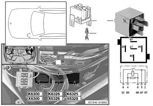 รีเลย์การดิสชาร์จ KL.15 K6326
