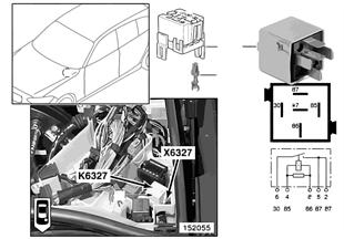Relais injecteurs K6327