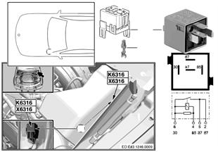 繼電器 可調式氣門機構 K6316