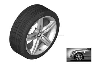 Winter wheel&tire star spoke 379