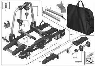 Rear bicycle carrier 'Pro 2.0'