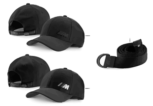 BMW M Collection — Gorras y cintur.16-18