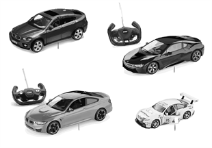 BMW Kids — Miniatures — Fun Cars 16-18