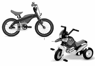 BMW enfant — Kidsbike, Junior Bike 16-18
