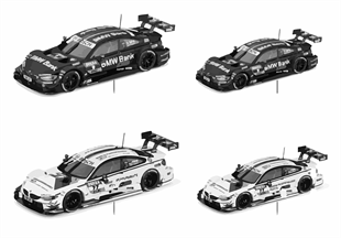 BMW miniatures — M4 DTM 16-18