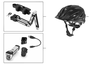 BMW Bikes & Equipment accessories 16-18
