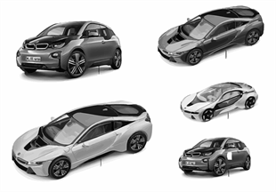 BMW Miniaturen — BMW i Vision 14/16